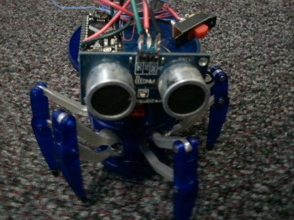 Arduino Controlled Hexbug Spider