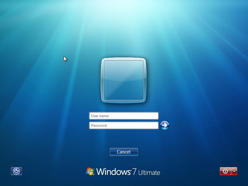 Get a Classic-like logon screen in Windows Vista