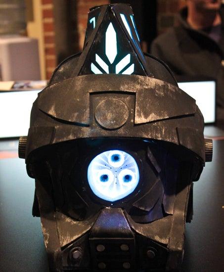 LED Light Up Robot Helmet