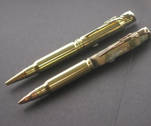 Make Your Own Rifle Cartridge Pen Blanks