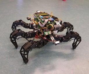 Spider Pig - Autonomous Hexapod Robot