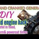 Heavy Duty Hand Cranked Generator