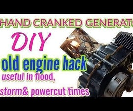 Heavy Duty Hand Cranked Generator