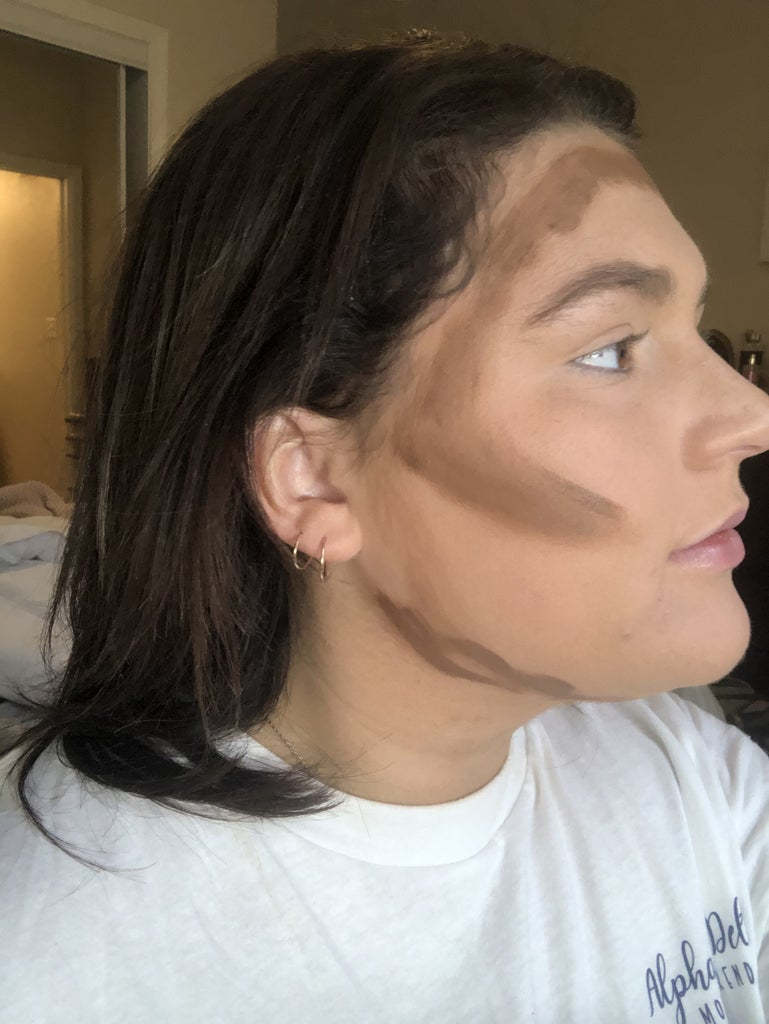 Start Contouring the Jawline