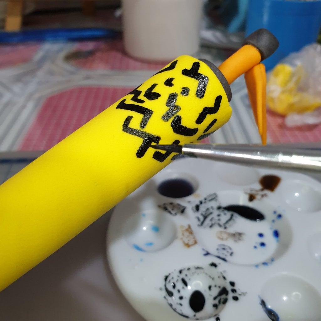 Making a Naruto Cake Topper