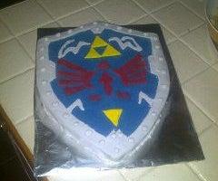 My Zelda Hylian Shield Cake!