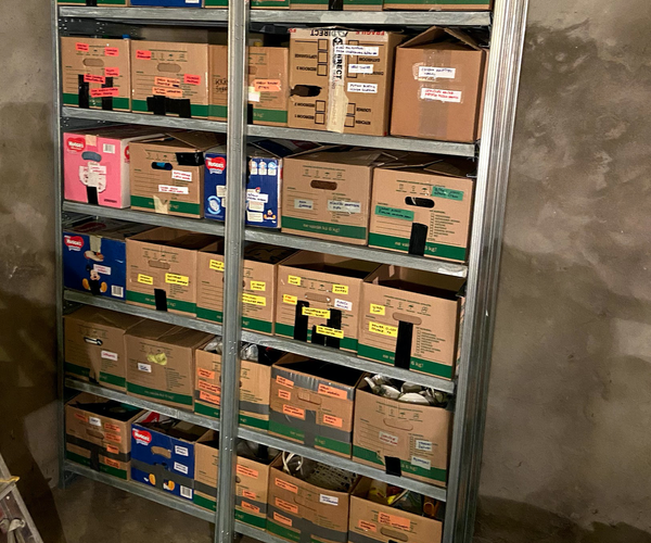 Durable and Cheap Storage Shelving System for Garage From Home Depot