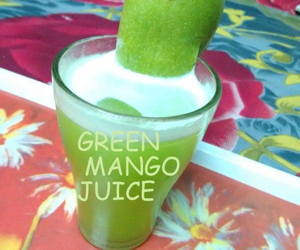 Make a Green Mango Juice