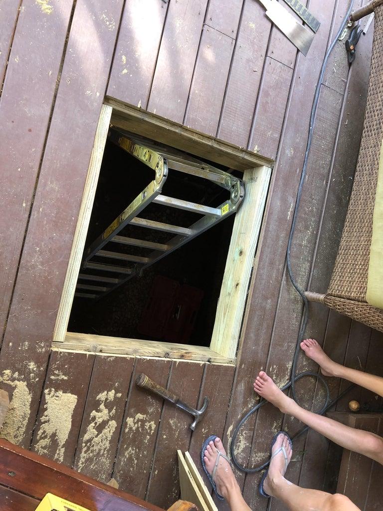 Build the Hidden Hatch!