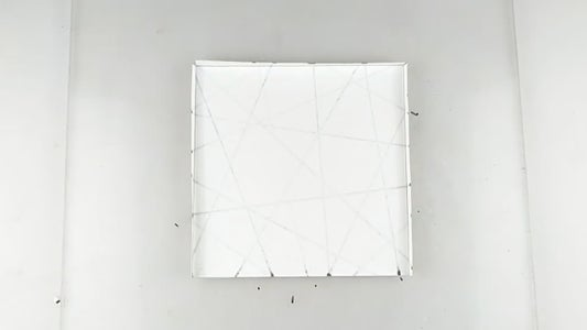 Fold 3 Sides of the Paper Sheets As Shown in the Video (REFER VIDEO)