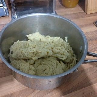 Cooking & Serving Fresh Pasta