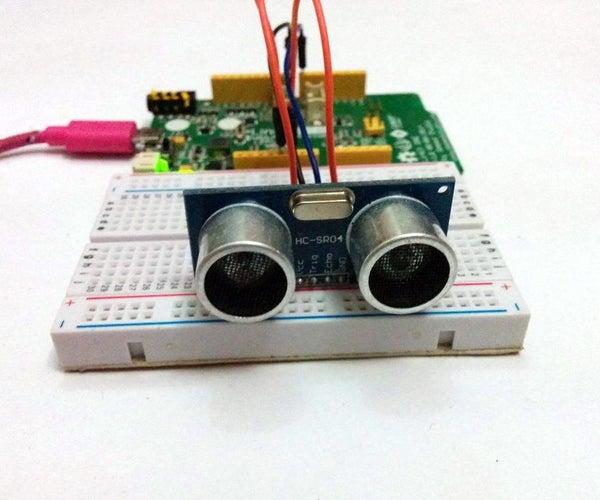 Linkit One Ultrasonic Distance Measurement Device