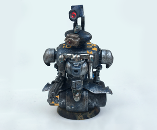 Kitbashing a Tabletop Model Robot