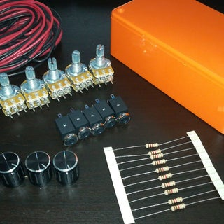Passive Audio Mixer W/ Channel Volume Control
