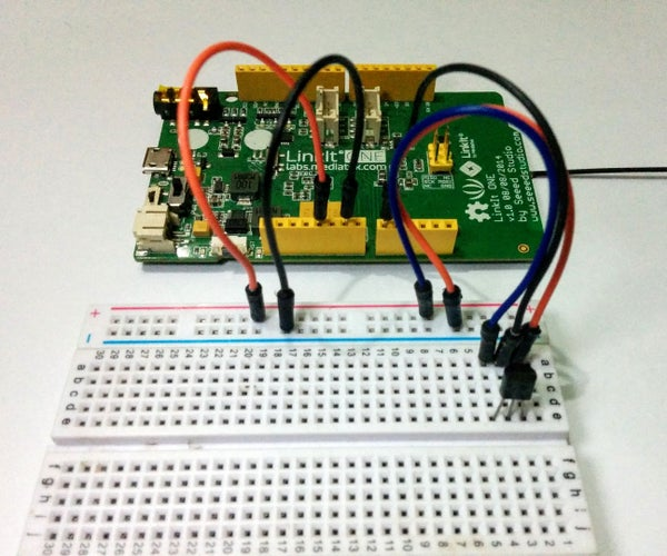 LinkIt One - Blynk - Temperature Guage