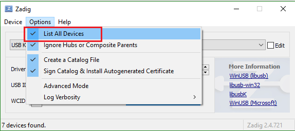 Driver Install and Configuration