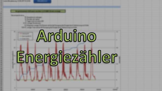 Arduino Energiezähler Für Solaranlage