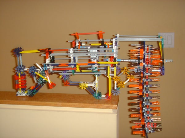 X415 K'nexterminator Machine Gun