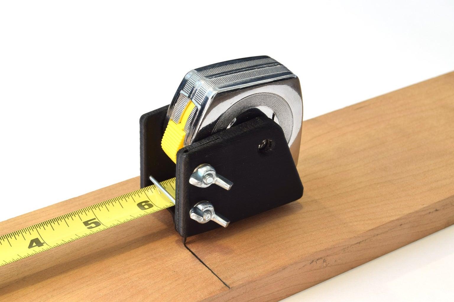 Self-Marking Tape Measure
