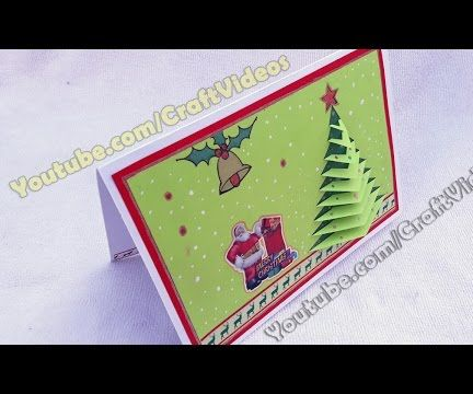 How to make a pop up Christmas card