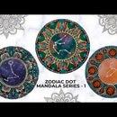 Zodiac Mandala Series - 1 | Leisure Space