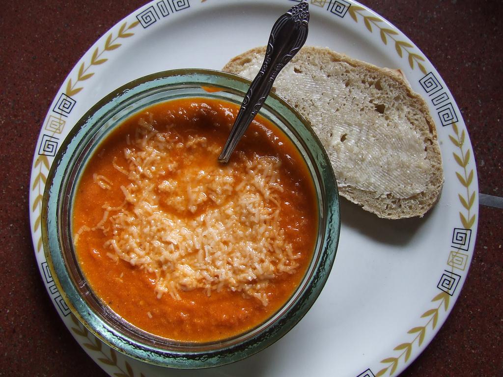Tomato Pecorino Soup