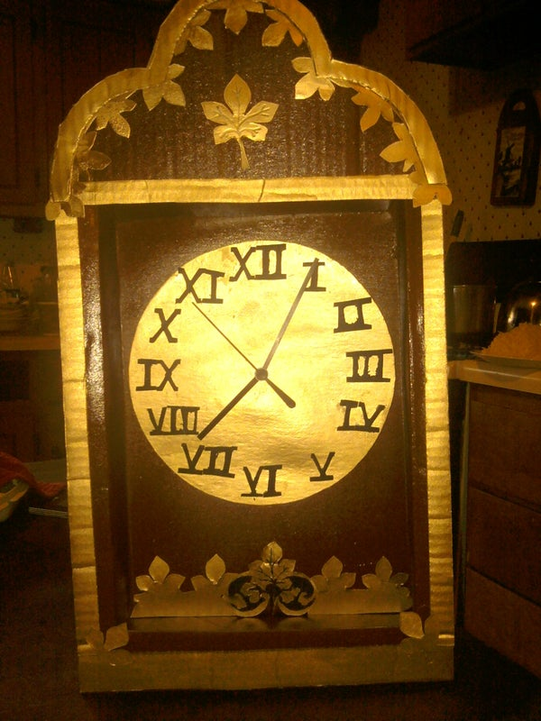 Cardboard Clock Photos