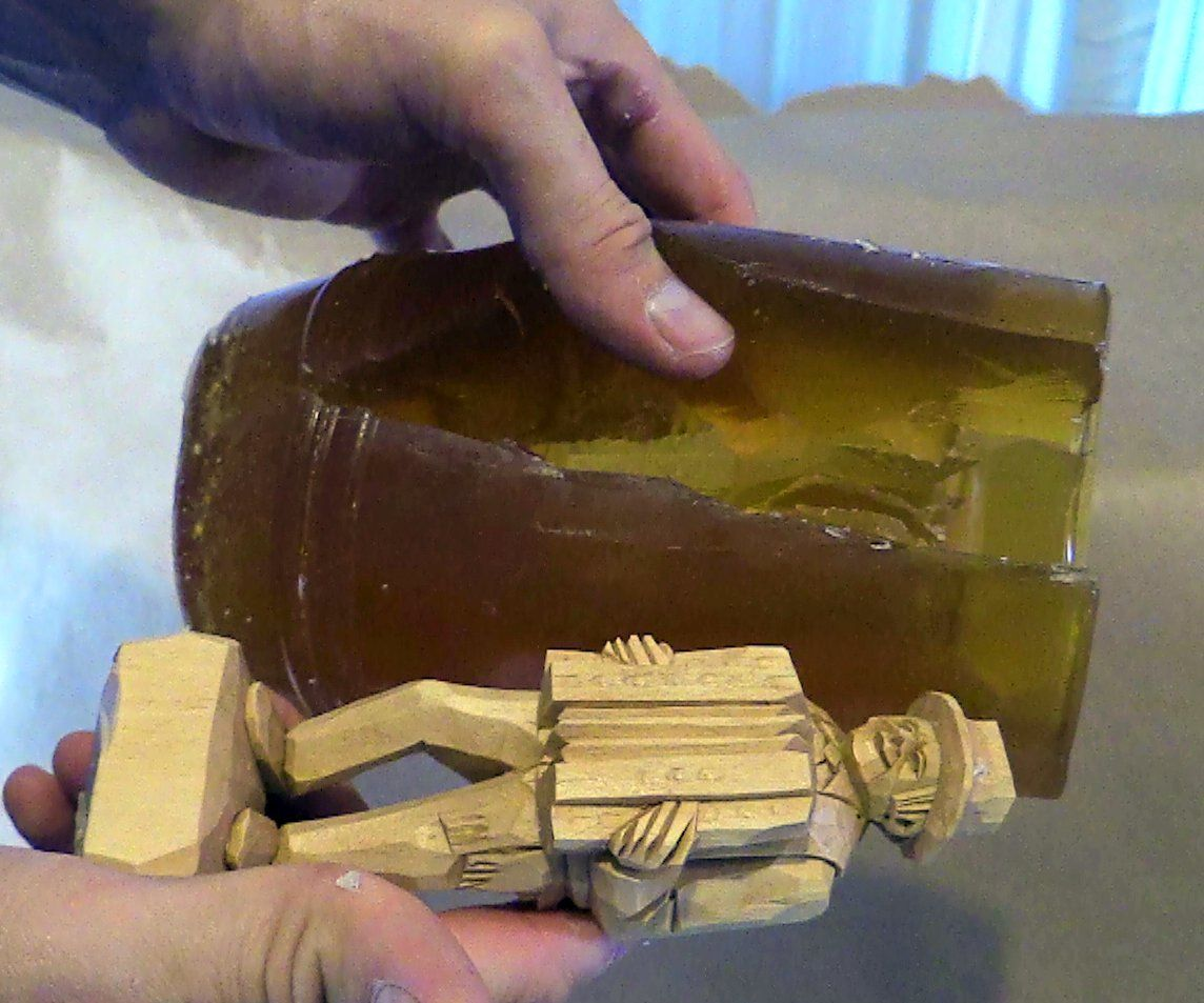 Easy How to Mold Cast and Duplicate Your Wood Carving With Concrete