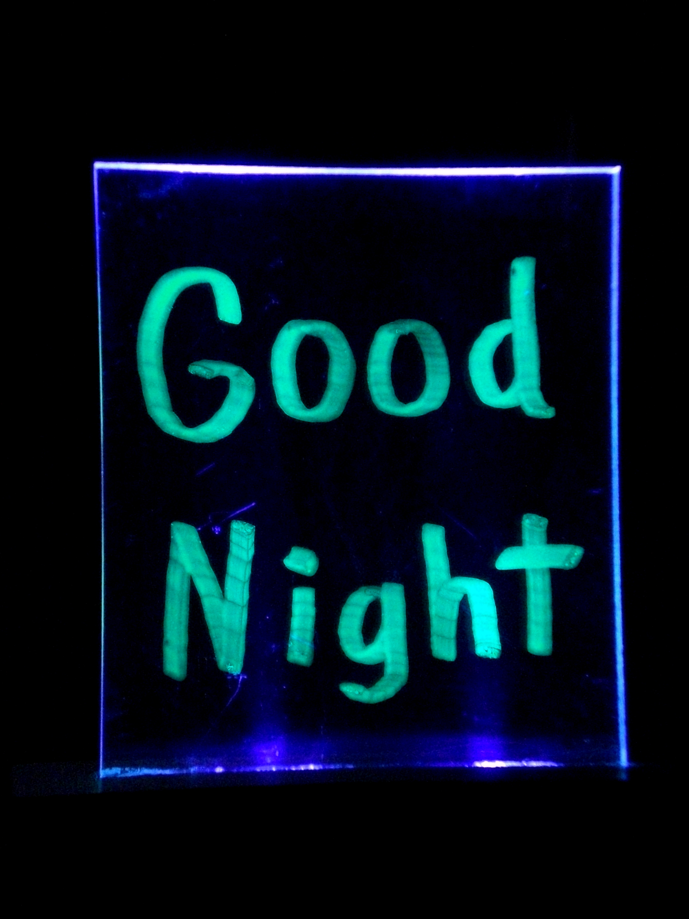 UV Nightlight / Bulletin Board