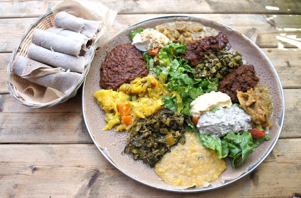 Intro to Ethiopian Food & DIY Injera