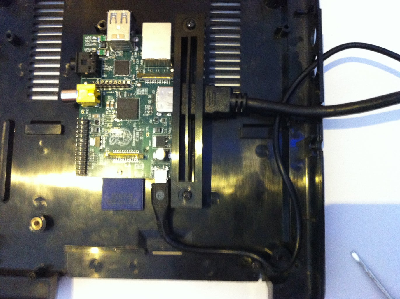 Inserting the Pi