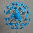 """3D Printed Flower Sculpture """"Allium"""""""
