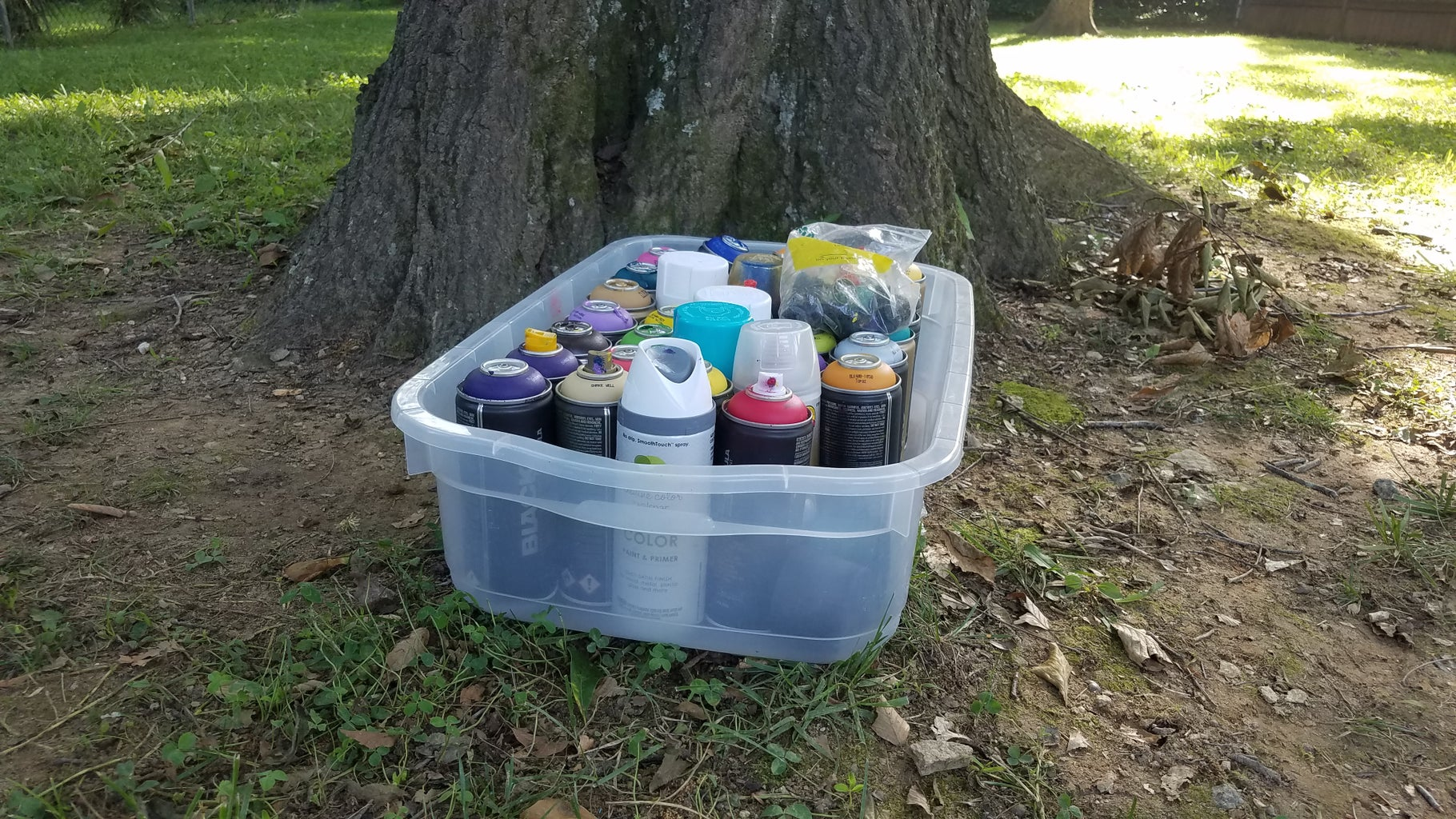 Prep the Paints