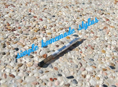 Simple Homemade Capacitive Touch Stylus
