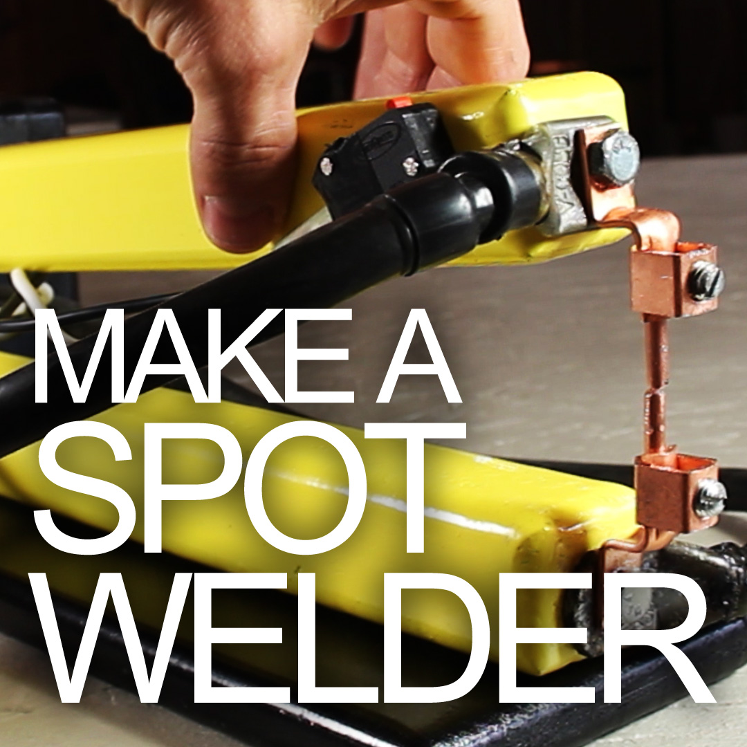 How to Make a Spot Welder - for Cheap!!