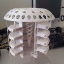An Architectural Model of a Futuristic Subterranean Building