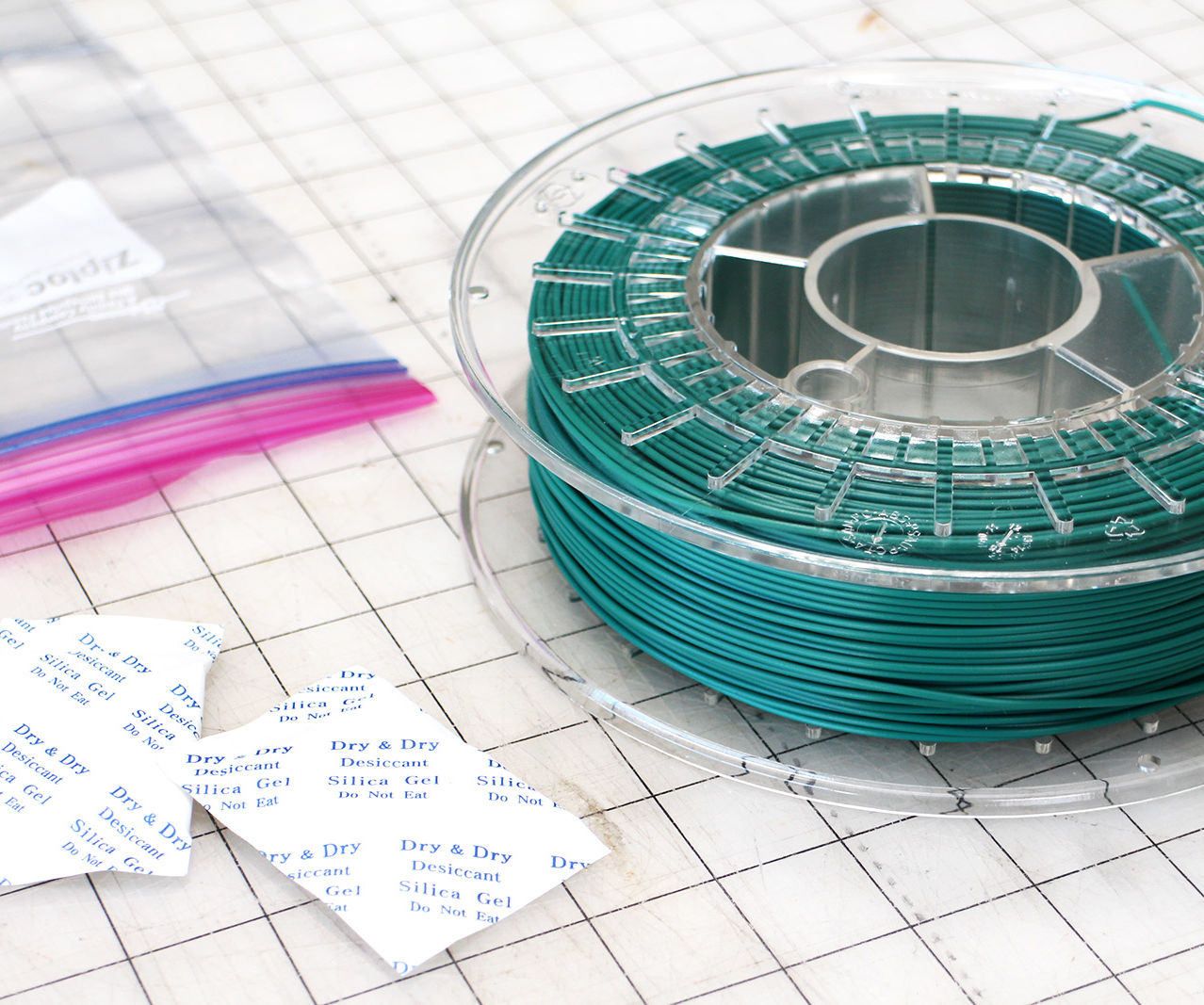 How to Store 3D Printing Filament