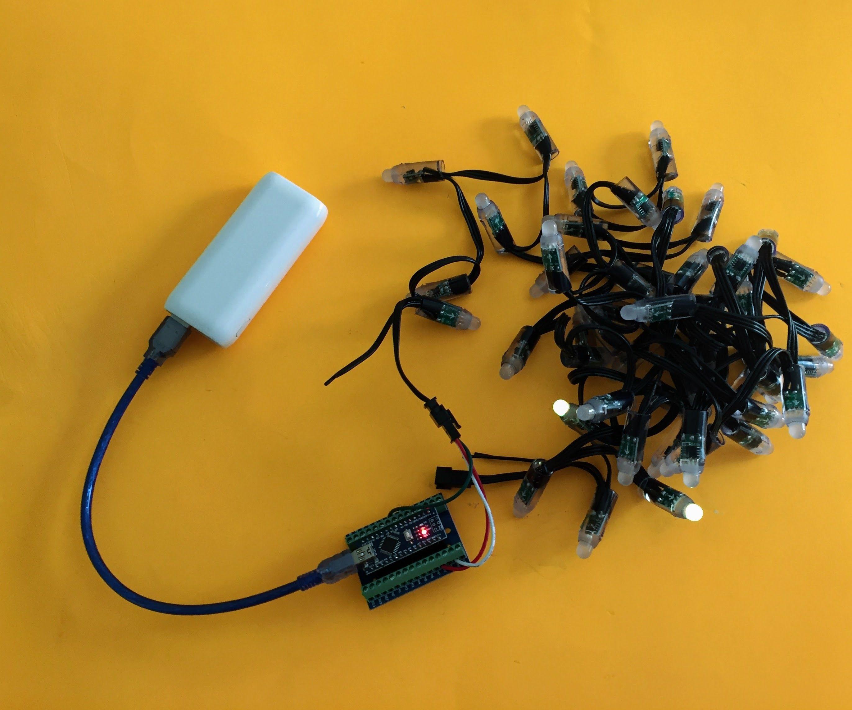 No-solder Fireflies / Lightning Bugs