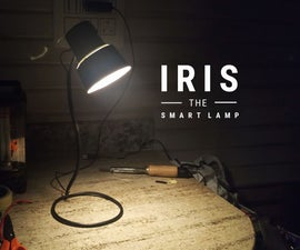 IRIS - the Lamp That Knows When You're Around