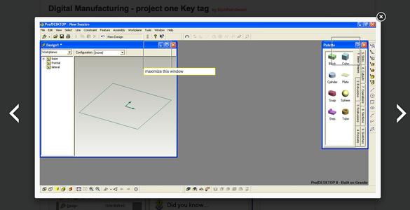 Digital Manufacturing -  Key Tag Project