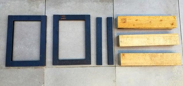 Pallet Stool Frames Cut-List