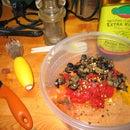 Italian Baccala (Salt Cod) Salad with Olives