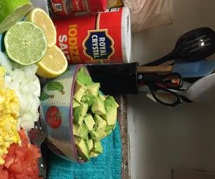 Grandma's Homemade Guacamole