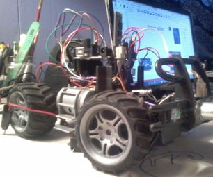 Arduino Controlled Car With Colission Avoidance