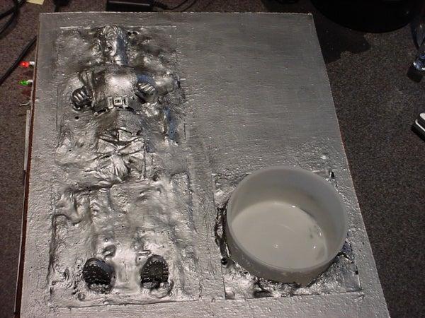 Han Solo 'En-Queso'd in Carbonite' Queso Dish