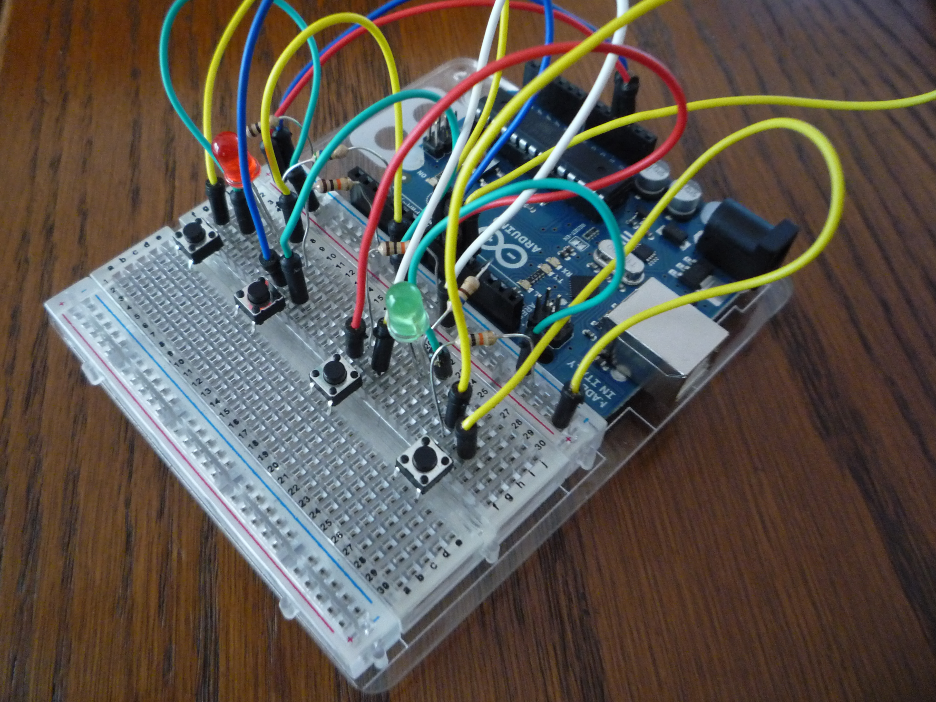 Arduino Combi-button Lock w/ optional iOS/Android support