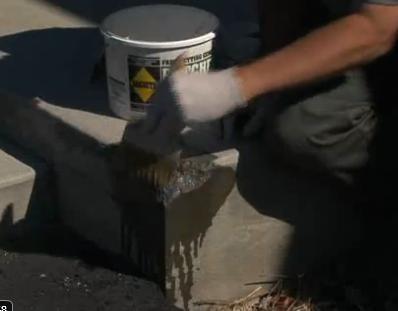 Patch Cracked Concrete