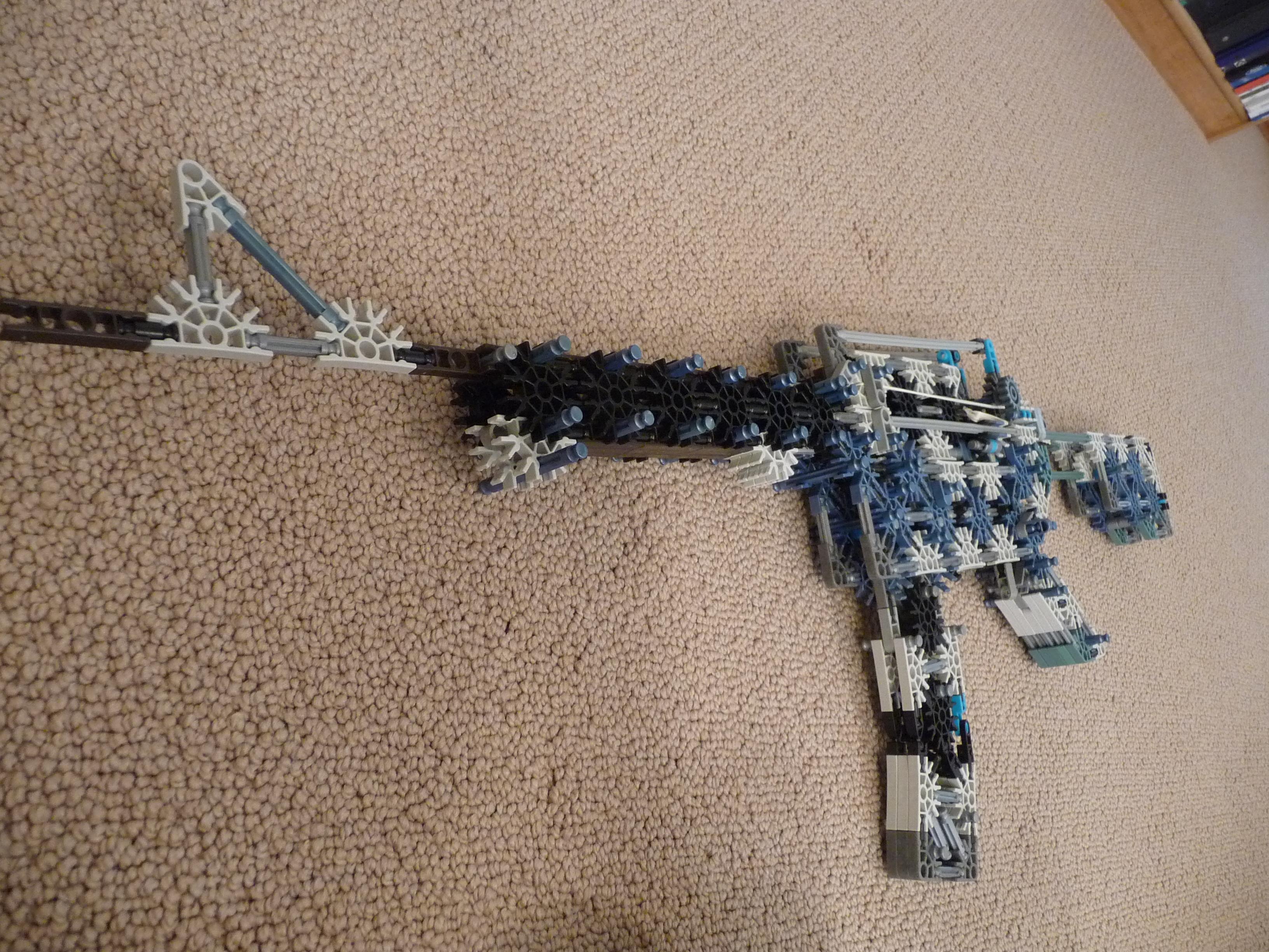 Knex M-16 A1 Carbine (true trigger)