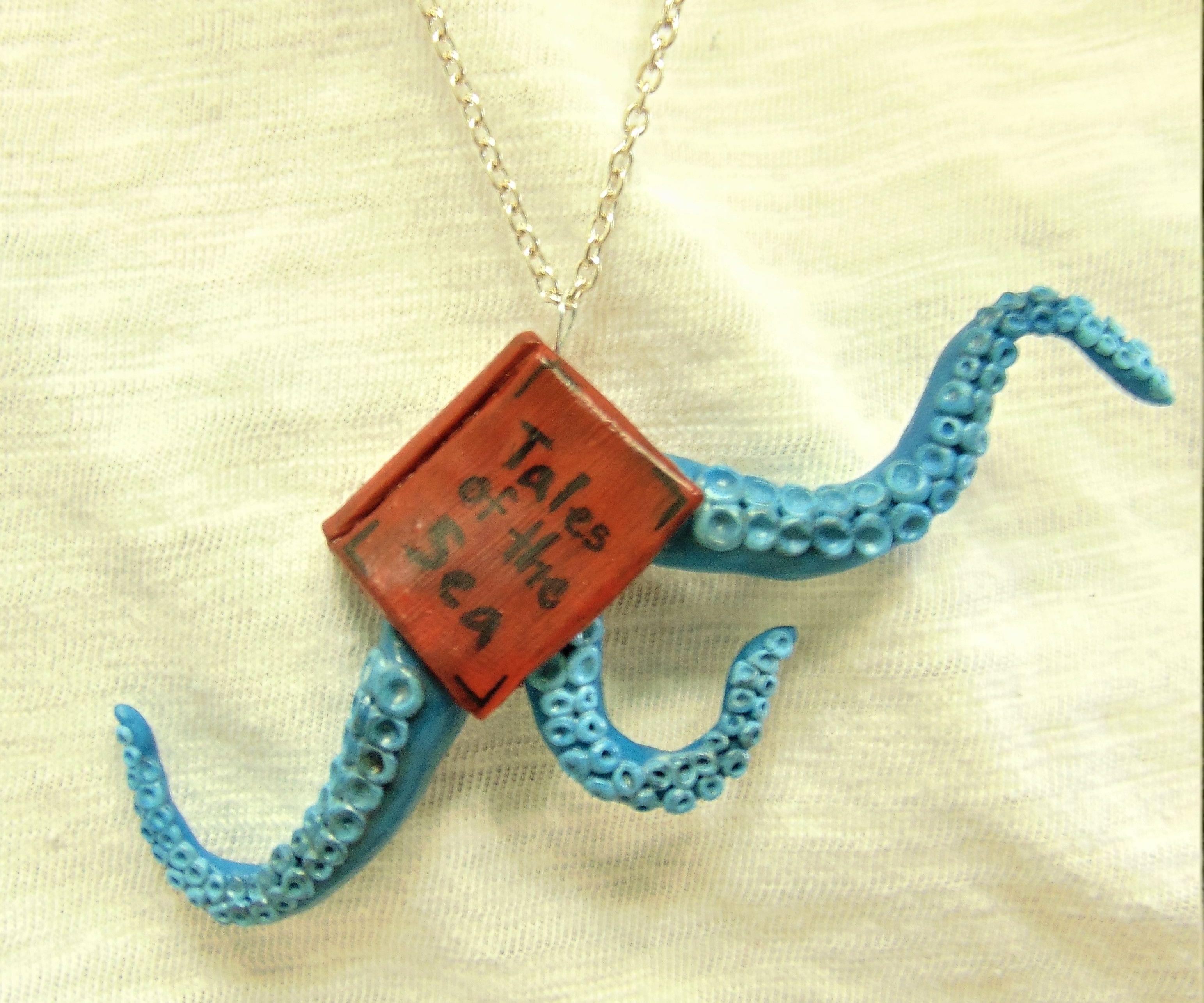 Fantasy Book Necklace