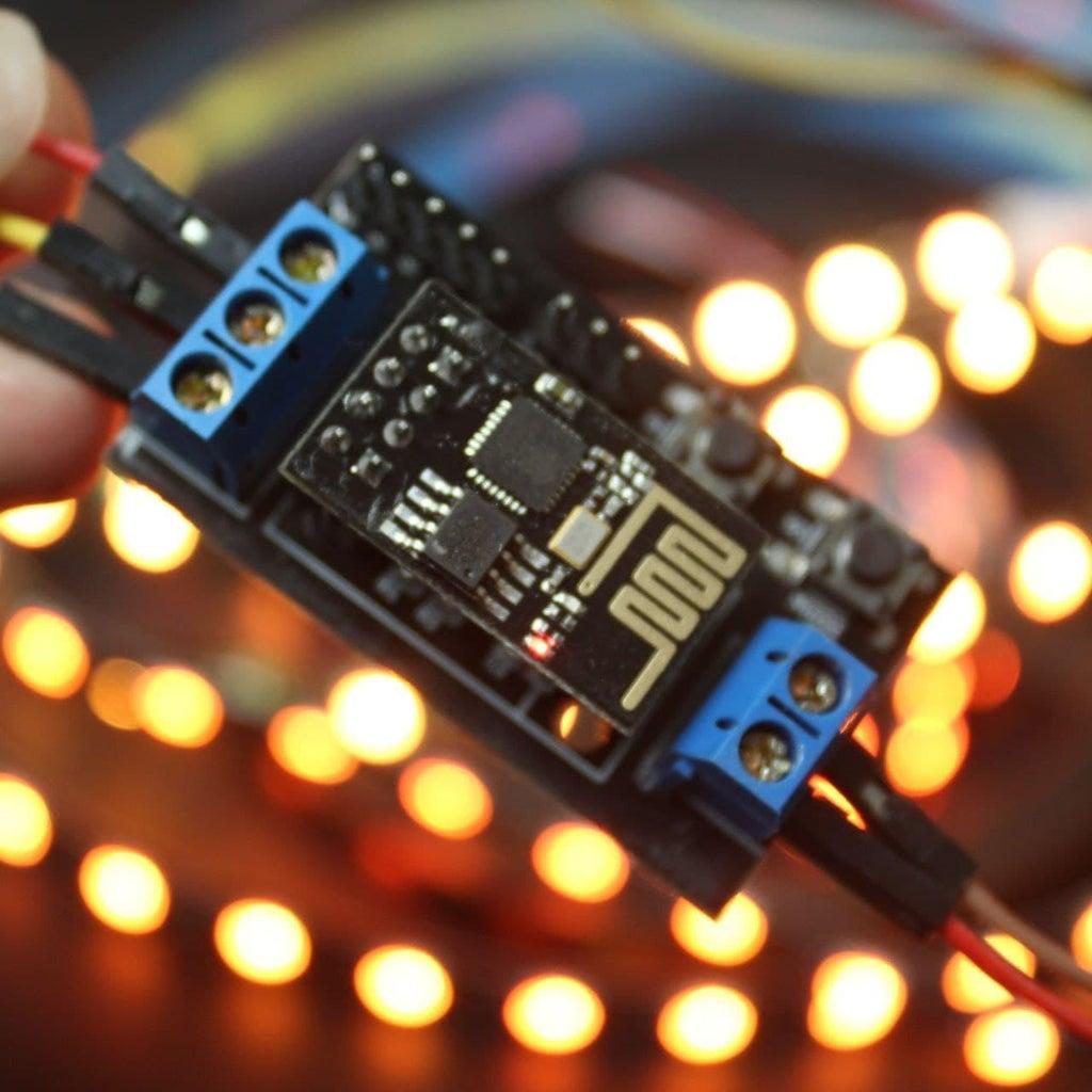 How to Controls WS2812B Using ESP-01 Arduino (ESP8266)